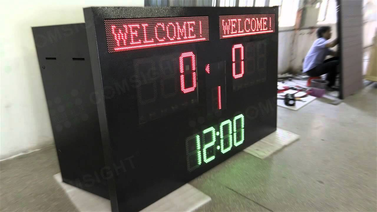 scoreboard led screen youtube
