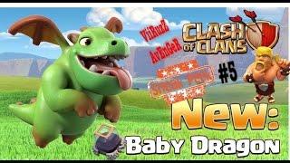 Sneak peek #5 Nueva tropa BEBE DRAGON Clash of clans /baby dragon CoC attack wars