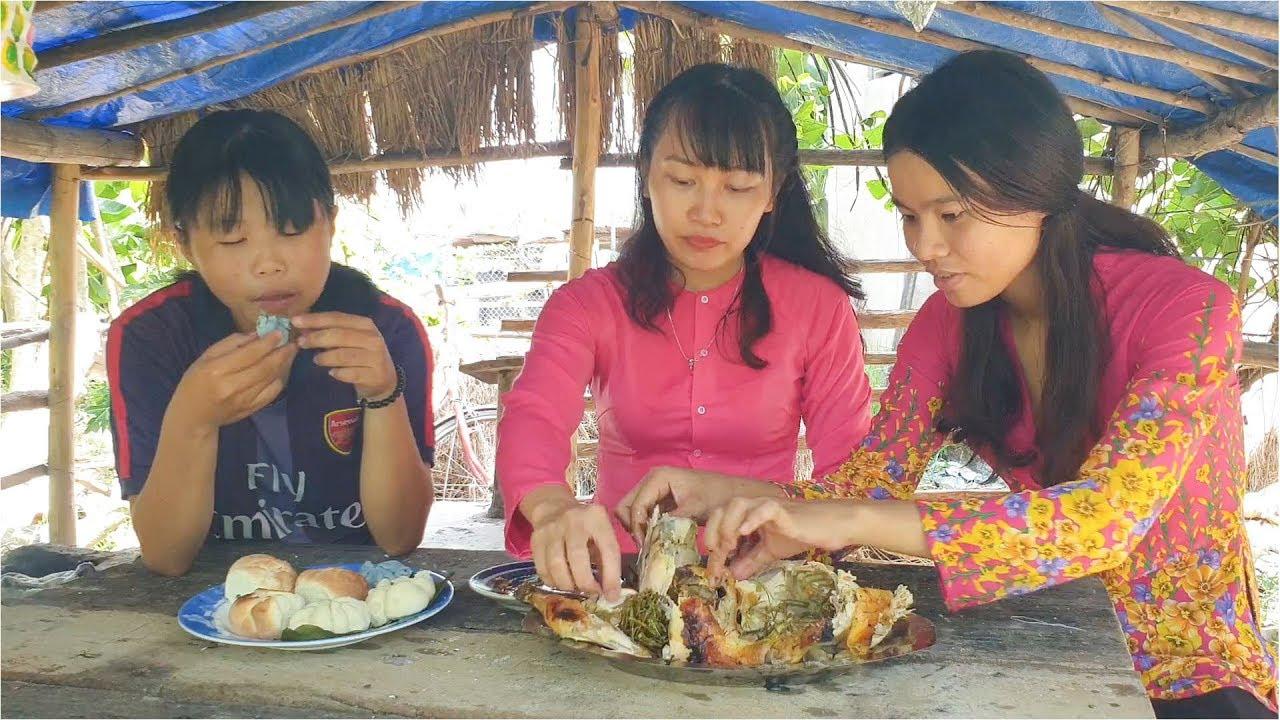 Cuộc Sống Dân Dã Nha Trang- Ăn Gà Nướng Muối Ớt Siêu Ngon Siêu Cay