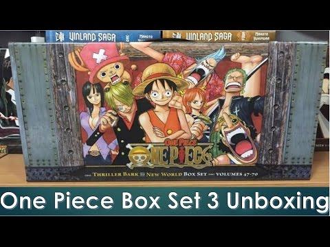 One Piece Manga Box Set 3 (Volumes 47-70) Unboxing - YouTube