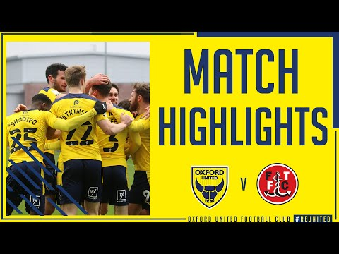 Oxford Utd Fleetwood Town Goals And Highlights