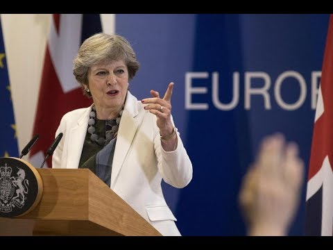 Theresa May delivers a speech in Brussels + Q&A (20 Oct 2017)