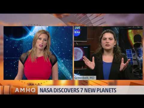 NASA Announces 7 New Planets