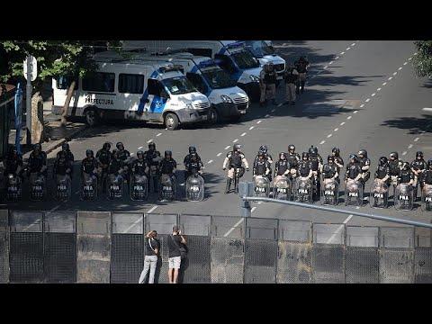 Manifestações anti-G20 em Buenos Aires