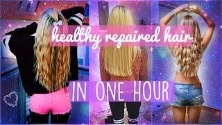 Gesunde Haare in einer Stunde? ES FUNKTIONIERT!