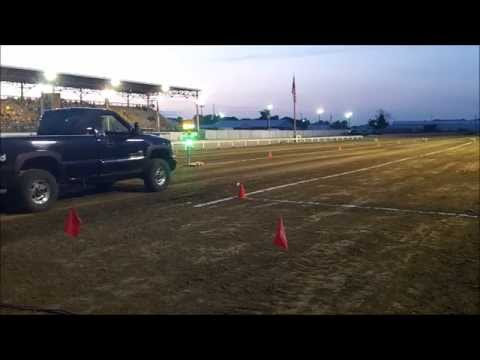 2015 Wayne County Fair (IL) Dirt Drags Stock Diesel Class