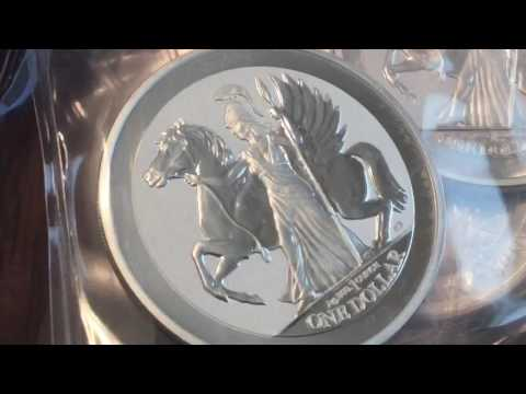 Stacking Silver: Pobjoy Mint Pegasus Reverse Proofs - British Virgin Islands