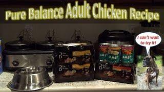 Pure Balance Adult Chicken Recipe