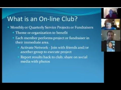 Campus Connect Civitan Club Pre Charter Video Meeting 07112017