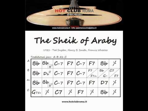 Django reinhardt - Grilles/Chords - THE SHEIK OF ARABY