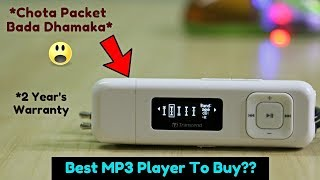 Download Best MP3 Player To Buy With 'OLED' Screen | Transcend MP330 MP3 Player (8 GB) Unboxing & Review