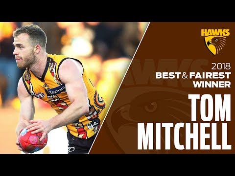 The best of Tom Mitchell in 2018   Club Champion Series   AFL
