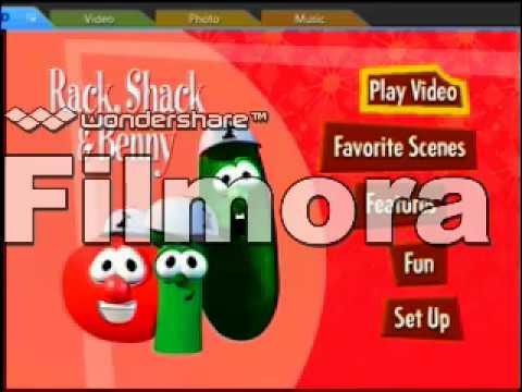 Opening to VeggieTales: Rack, Shack and Benny DVD (2002 ...