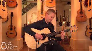 TNAG Session: Stuart Ryan Playing a Gerber Model RL15 Acoustic Guitar