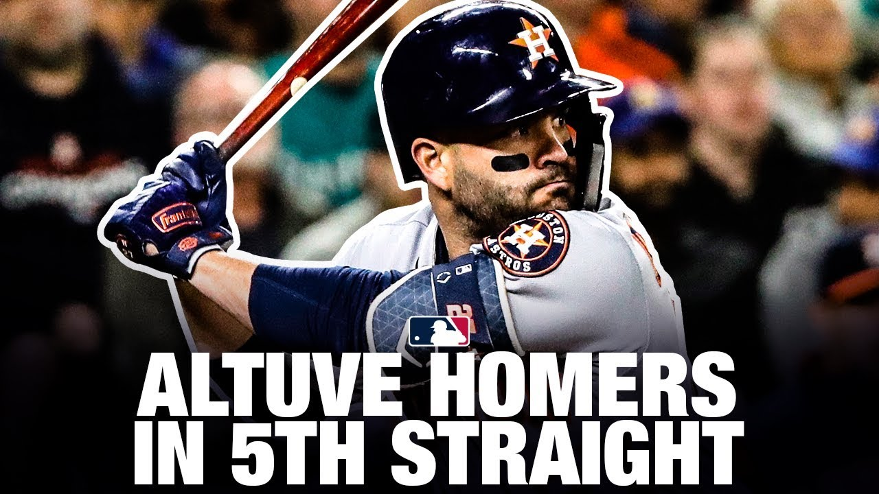 Altuve Homers in 5th Straight