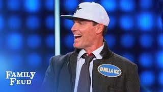 THIS gives me emotional Sssupport!!! | Celebrity Family Feud