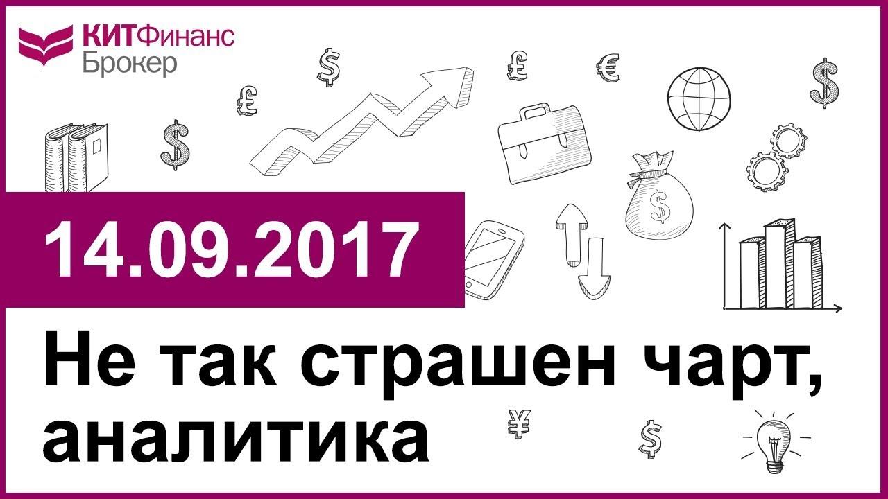 Не так страшен чарт, аналитика - 14.09.2017; 16:00 (мск)