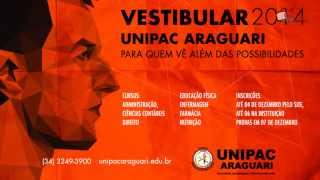 Unipac Vestibular 2014 - Araguari