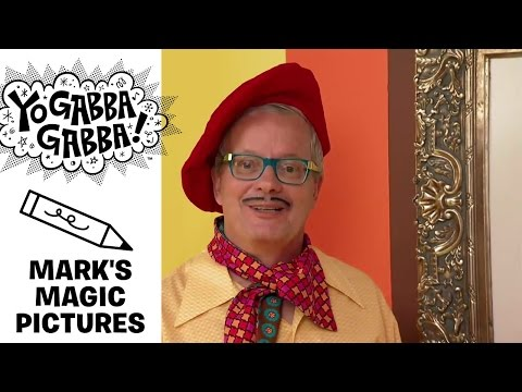 Mark's Magic Picture - Magic Star - Yo Gabba Gabba!
