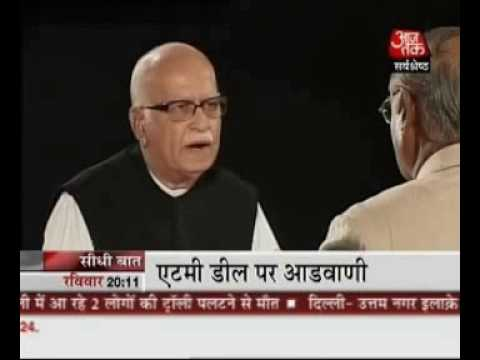 Seedhi Baat L.K. Advani with Prabhu Chawla
