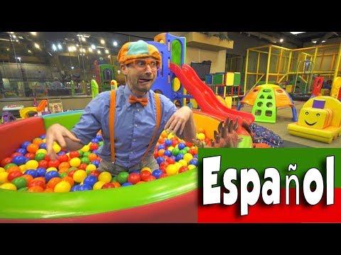 Canciones Infantiles con Blippi Español | Videos Educacionales Para Niños