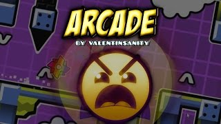 ARCADE 100% (COOL!) - by ValentInsanity - Geometry Dash [2.0]