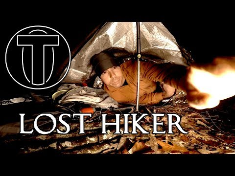 Lost Hiker - Day Hike To Overnighter - Unprepared Survival