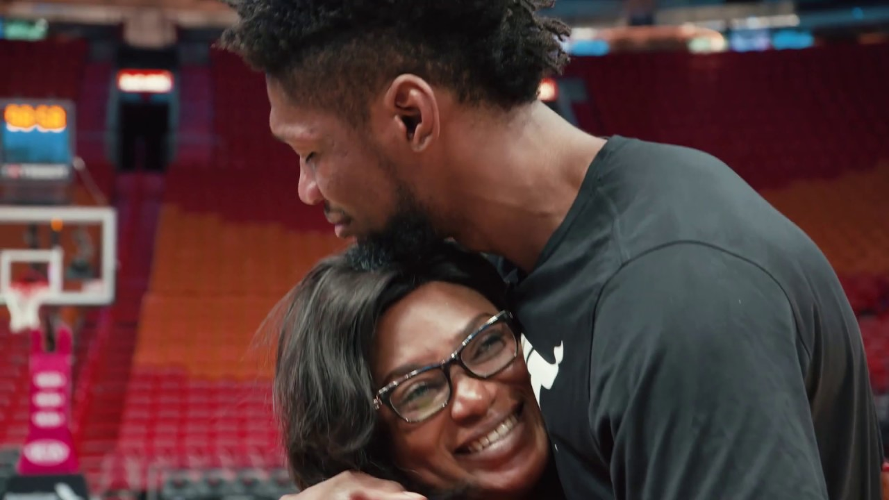 Chris Silva, Miami Heat forward, reunites with his mom after 3 years ...
