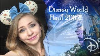 Disney world haul 2016!!!!! streaming