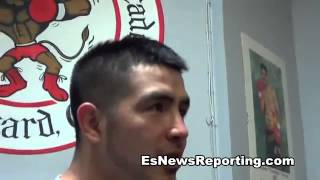 nonito donaire trainging in oxnard meets mexican darchinyan - EsNews Boxing2482