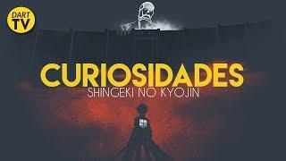 10 cosas que no sabias de shingeki no kyojin - curiosidades