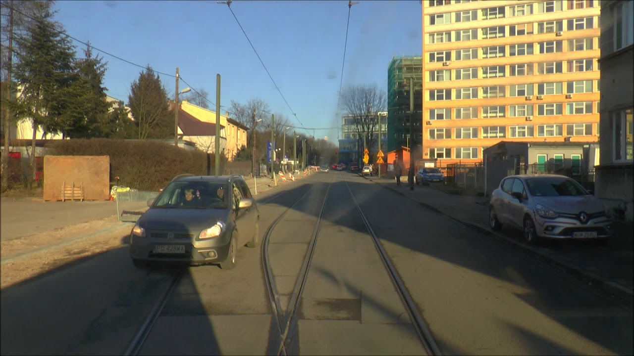 Przejazd Tramwajem przez Zajezdnię Podgórze