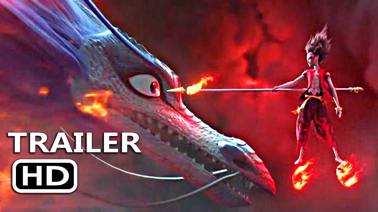NE ZHA Official Trailer (2019) Animation Manga