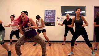 Live It Up - Jennifer Lopez ft. Pitbull Zumba with Mallory HotMess