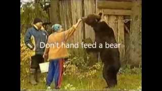 Bear Attack: Do Not Hand Feed a Bear