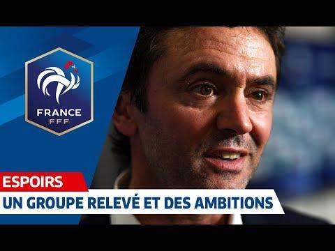 """Sylvain Ripoll : """"Un groupe relevé, beaucoup d'ambitions"""", Euro Espoirs 2019 I FFF 2018"""
