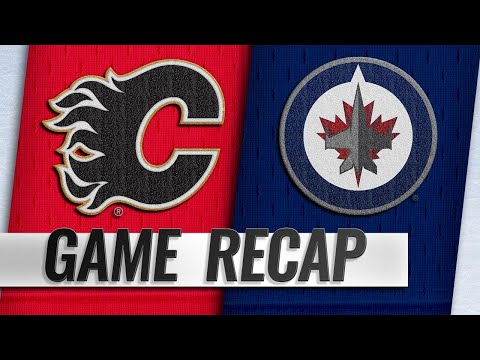 Gaudreau's fourth career hatty powers Flames by Jets