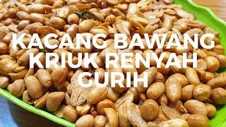 Resep Kacang Bawang Renyah Youtube
