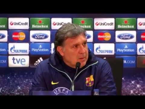 "Gerardo Martino: ""Andres Iniesta ist einzigartig"" | FC Barcelona - Atletico Madrid"