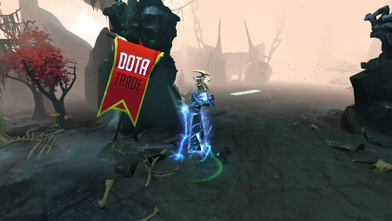 Dota 2 Mod Razor Golden Severing Crest Immortal Items: Golden Severing Crest Razor Custom Animation Preview Dota