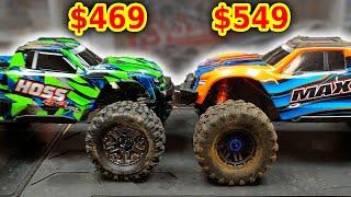 Traxxas HOSS VS MAXX RC Cars - Worth $80 more?
