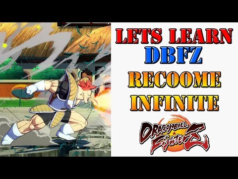 Lets learn DBFZ!  Recoome can cause infinite combos!