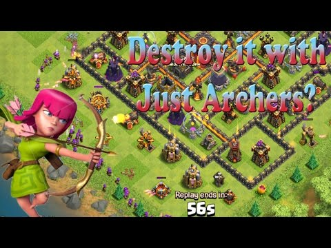 Clash of Clans: Can We win with just Archers in Champs?