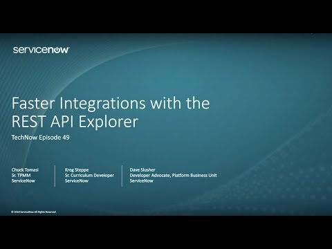 Faster Integrations with the REST API...