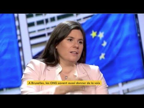 """Virginie Rozière participe à l'émission """"La faute à l'Europe"""""""
