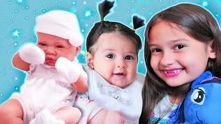 Fındık ailesi ve Defne. Bebek bakma kız oyunları. İlk bölümler