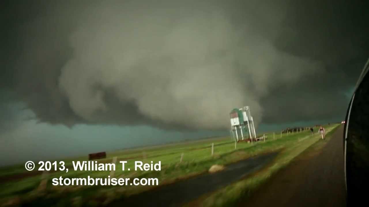 El Reno Oklahoma >> Birth of the El Reno, OK, tornado --- May 31, 2013 - YouTube