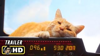 "CAPTAIN MARVEL (2019) ""Goose the Cat"" Trailer [HD] Brie Larson"