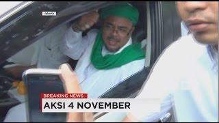 Rizieq Shihab Pimpin Keberangkatan Massa FPI Ke Istiqlal