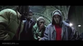 8 Mile All Eminem rap parts